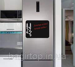Магнітна дошка на холодильник - Кіт шкрябає (40x30 см)