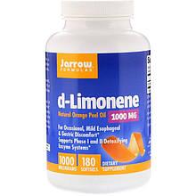 "D-лимонен Jarrow Formulas ""d-Limonene"" 1000 мг (180 гелевых капсул)"