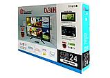 "Телевизор Domotec 24"" 24LN4100D DVB-T2, фото 3"