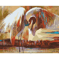 Картина по номерам - Крылья счастья (КНО4011)
