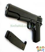 Игрушечный пистолет / Лучший Пистолет металл Кольт Colt Страйкбольный 1 в 1 с настоящим