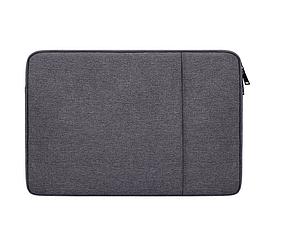 "Сумка чохол для Macbook 12/ macbook Air 11"" - темно сірий"