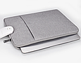 Сумка чехол для Macbook 12/ macbook Air 11'' - серый, фото 5