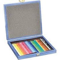 Карандаши цветные бездревесные  24 штуки Progresso 8758 в пенале