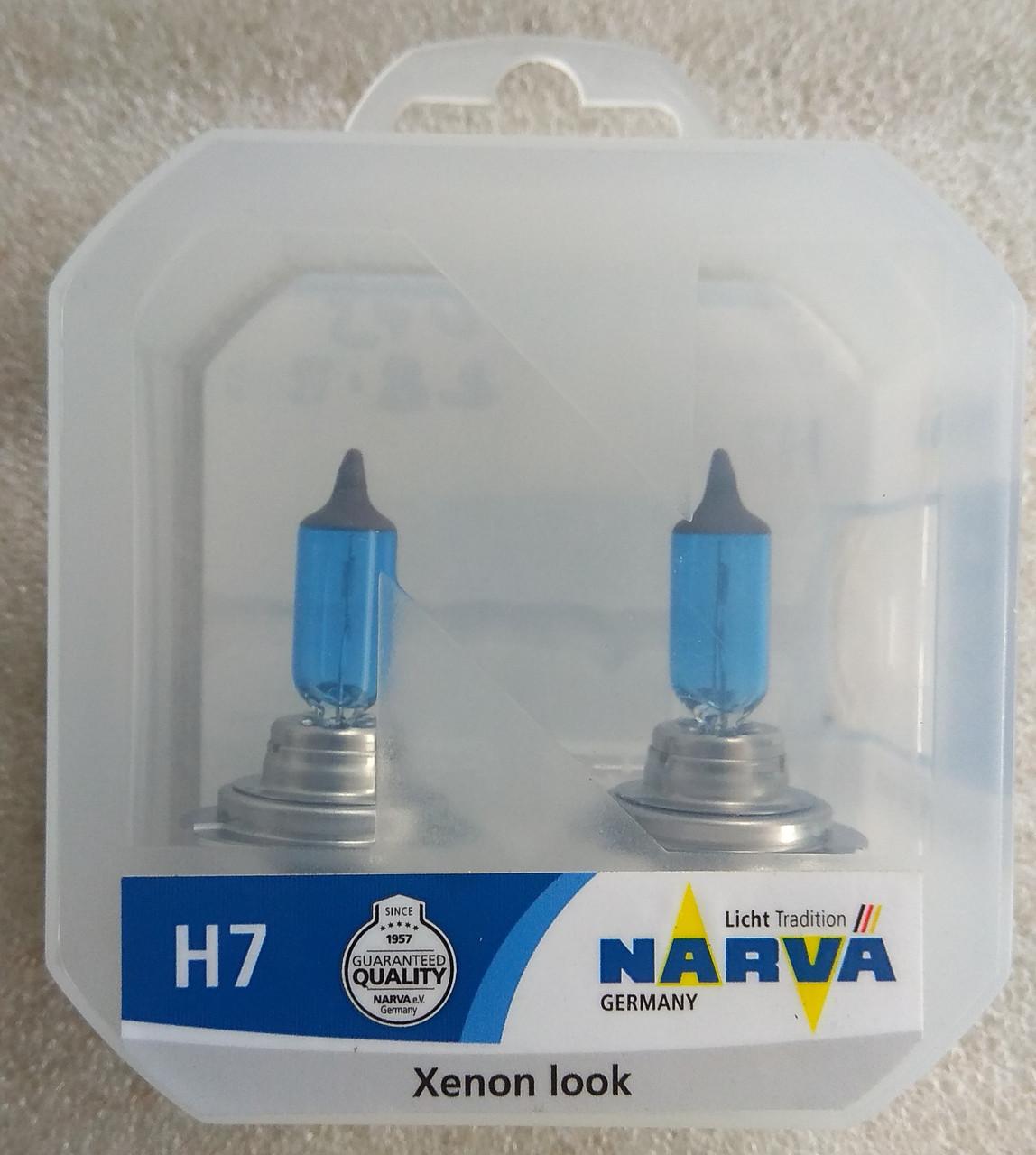 Лампа галогеновая Narva Range Power White H7 12v 55w