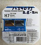 Лампа галогеновая Narva Range Power White H7 12v 55w, фото 2