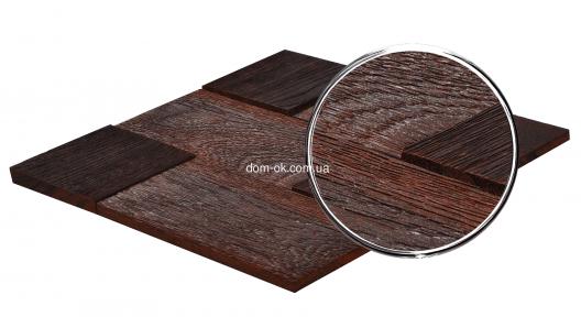 Мозаика деревянная  Doted Dark Rough Коллекция «Aged Wood»