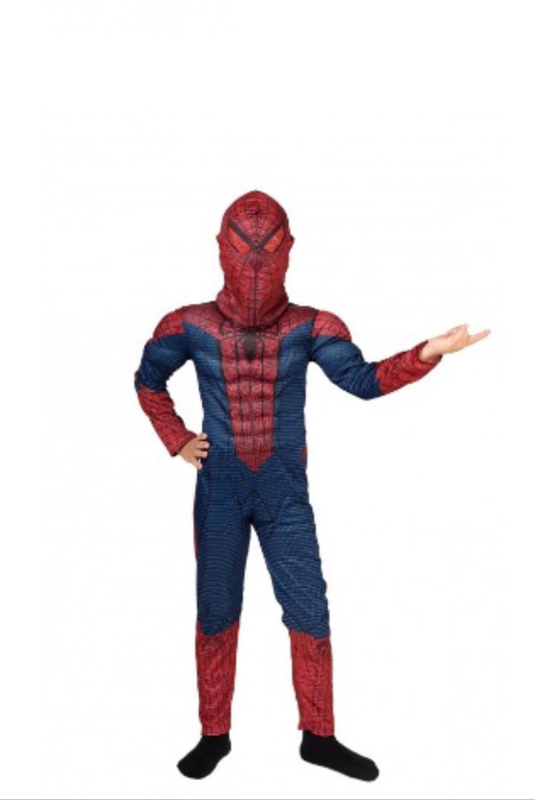 Карнавальный костюм Человека Паука с мышцами