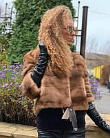 Норковая автоледи меховая куртка 42 44 46, фото 1