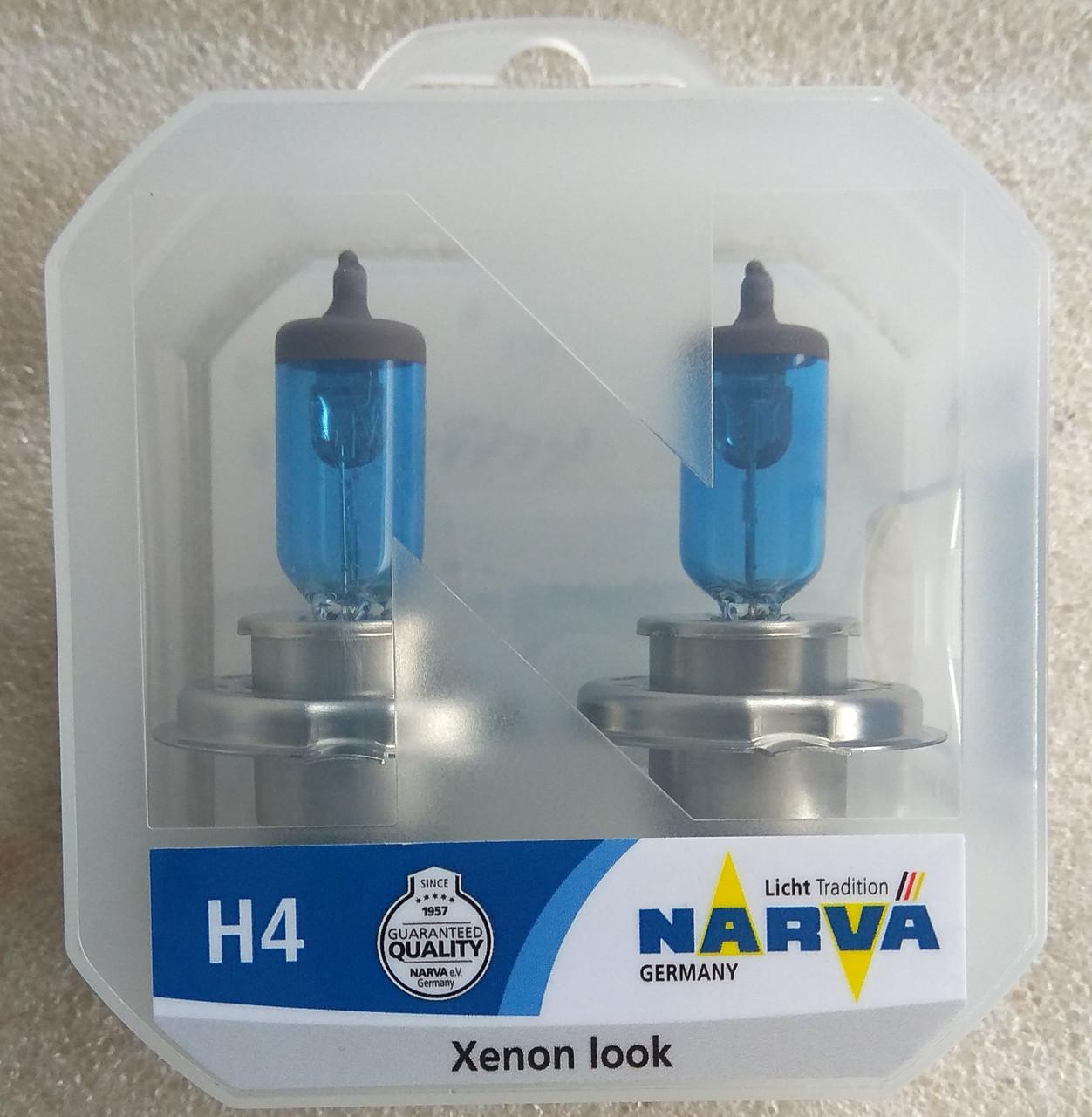 Лампа галогеновая Narva Range Power White H4 12v 60/55w