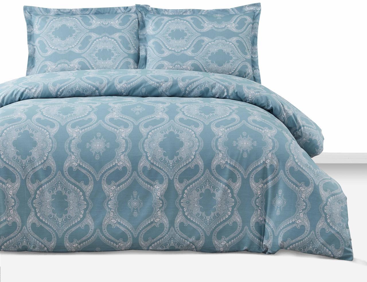 Евро комплект постельного белья Arya Simple Living Veras 200х220