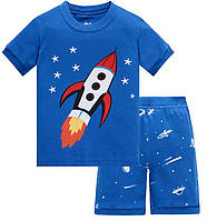 Пижама детская Шаттл Baobaby шорты и футболка на мальчика