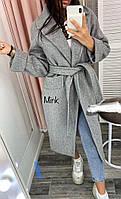 Женское кашемировое  пальто на синтепоне 150(до -5 градусов )