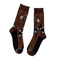 Высокие мужские носки Звёздные войны Чубакка, фото 2