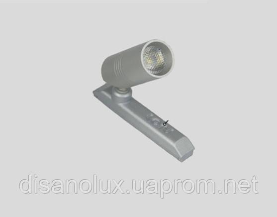 Светильник для подсветки витрин magnetic  LED LUB7517-P-CREE 2W  6500К  12в silver