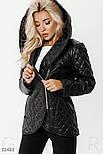 Удлиненная стеганая куртка демисезонная, фото 4