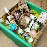 Подарочный набор с органической косметикой, отличный подарок с качественным наполнением