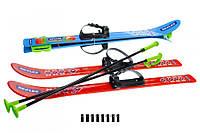 Набор лыжный детский (Лыжи + палки) 04625 (шт.)