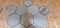 Hexagon Mix 350x403мм сорт NS. Плитка сотами, ромбами.