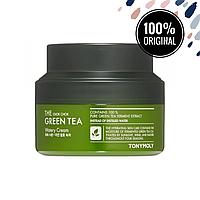 Крем на основе экстракта зеленого чая TONY MOLY The Chok Chok Green Tea Watery Cream, 60 мл