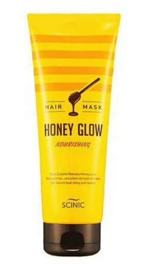 Медовая маска для волос Scinic Honey Glow Hair Mask 220 мл