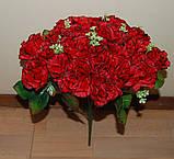 М-498 Букет роза кучерявая 24 головы 45х8 см, фото 4