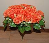 М-498 Букет роза кучерявая 24 головы 45х8 см, фото 8