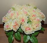 М-498 Букет роза кучерявая 24 головы 45х8 см, фото 6