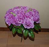М-498 Букет роза кучерявая 24 головы 45х8 см, фото 5