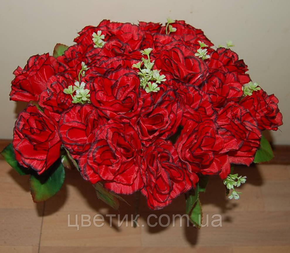 М-498 Букет роза кучерявая 24 головы 45х8 см