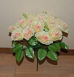 М-498 Букет роза кучерявая 24 головы 45х8 см, фото 7