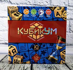 """Настольная игра """"КубикУм"""" G-KU-01 Danko-Toys Украина"""