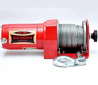 ✅Лебедка электрическая для квадроцикла ATV DRAGON WINCH DWM 2500 ST 12V и 1,13 т