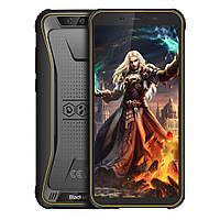 #182689 - Смартфон Blackview BV5500 Pro Yellow, 2 NanoSim, сенсорный емкостный 5.5' (1440x720) IPS, MediaTek MT6739V Quad Core 1.5GHz, RAM 3Gb, ROM