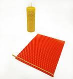 Фитиль диаметром 1,5 мм вощеный 3 метра (10 шт по 30 см) для свечей из вощины, фото 3