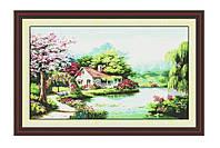 Набор для вышивания Весенний сад 118х72см 14 в F058 (шт.) (шт.)