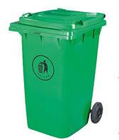 Бак для мусора ZTP-360 green