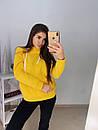 Женское худи на флисе с капюшоном и карманом 11sv770, фото 2