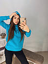 Женское худи на флисе с капюшоном и карманом 11sv770, фото 9