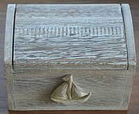 Морской сундук-шкатулка (14х10х9)