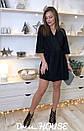 Платье из люрекса с верхом на запах и расклешенной юбкой 5py492, фото 3