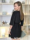Платье из люрекса с верхом на запах и расклешенной юбкой 5py492, фото 5