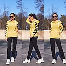 Женский утепленный флисом спортивный костюм с худи 11so819, фото 2