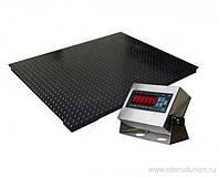 Весы платформенные ВПЕ-1000-4(H1215) 1000кг СТАНДАРТ