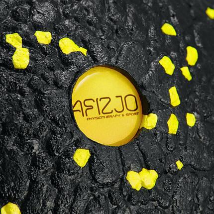 Массажный мяч 4FIZJO EPP BALL 12 4FJ0057 Black/Yellow, фото 2