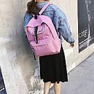 Рюкзак с лентами и ушками(ушки)Cat (черный, серый, розовый), фото 9