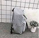 Рюкзак с лентами и ушками(ушки)Cat (черный, серый, розовый), фото 4