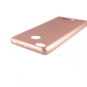 Чехол-накладка DK-Case силикон Шарпей для Xiaomi Redmi 3 Pro/3S (gold)