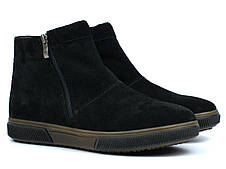 Зимові замшеві чоловічі угги Rosso Avangard Y-G Black Vel - зручне взуття на холодну пору року