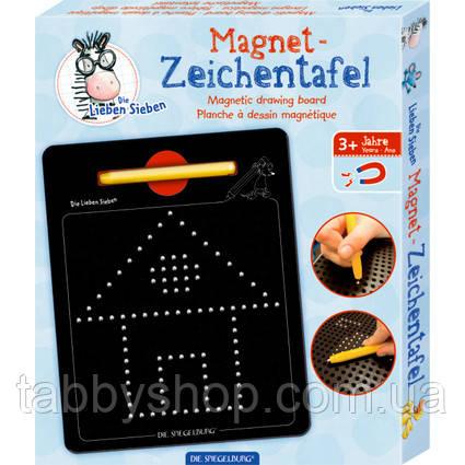 Магнитная доска мозаика Spiegelburg Семь Друзей